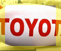 14 ft advertising blimp with TOYOTO logo